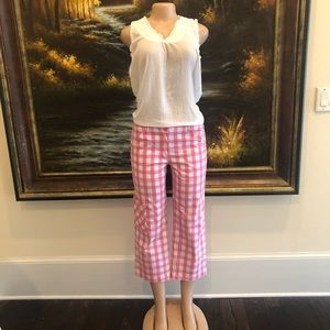 Lilly Pulitzer plaid pants
